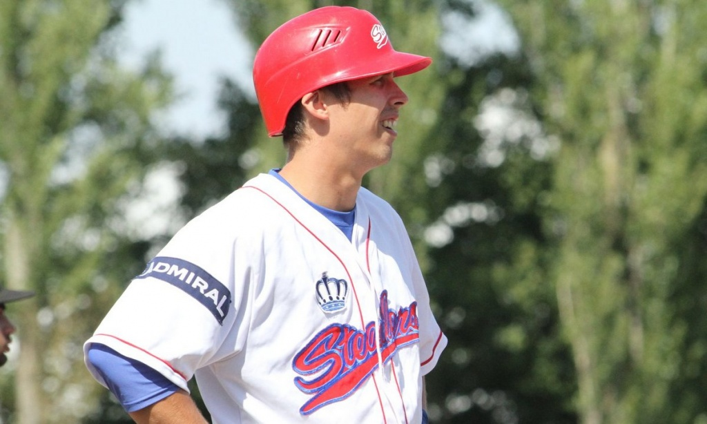 Baseballspieler Alexander Harms