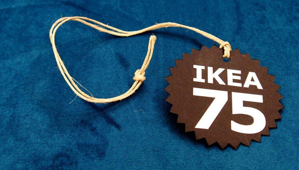 Aufhänger 75 Jahre IKEA