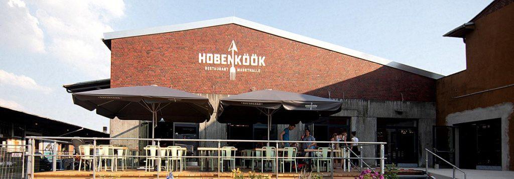 Neue Gastronomie im Oberhafen Hobenköök Aussenansicht