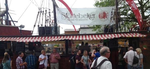 Verkaufsstand für Störtebeker Biere