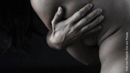 Die Brust einer Frau