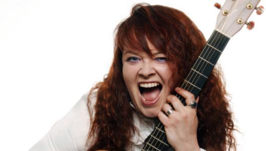 Die Musikerin Gabi Liedke