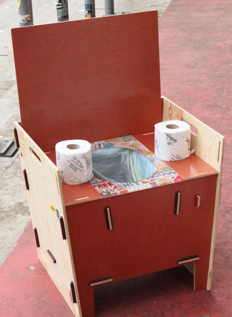 Ein Kompost-WC