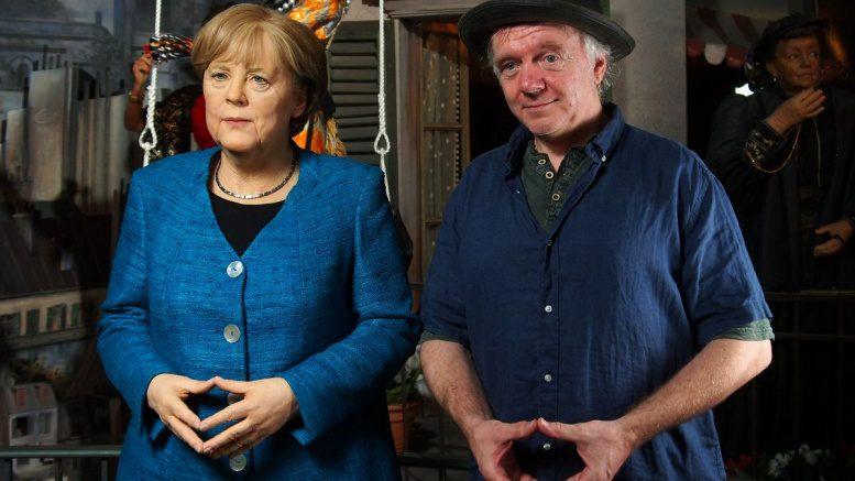 Dr. Angela Merkel im Panoptikum Hamburg