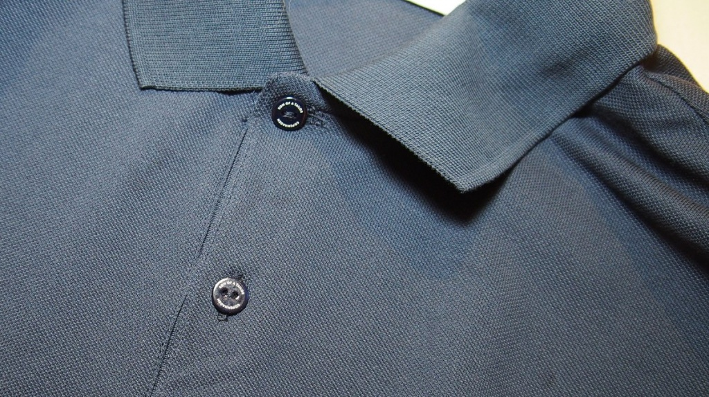 Polo Hemd in graublau