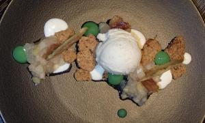 Dessert in Broschek
