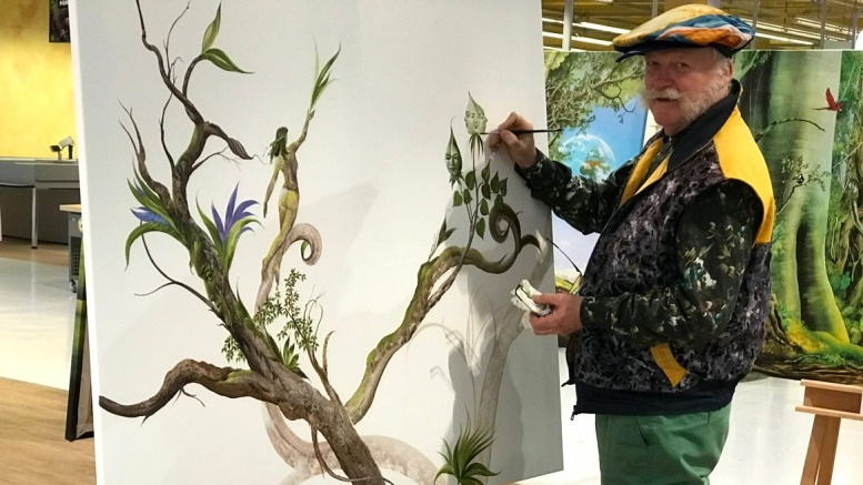 Der Maler Carl W. Röhring