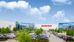Ansicht des dodenhof Shoppingcenter