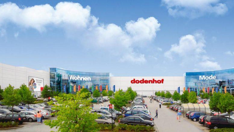 Ansicht des dodenhof Shoppingcenter