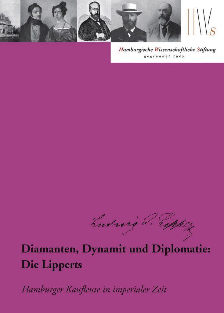 Buchcover über hanseatische Kaufleute