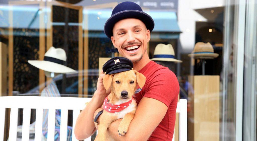 Oliver Tienken und Hund Peppi