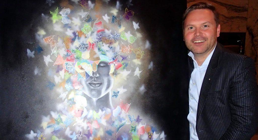 Hubert Neubacher mit Bild
