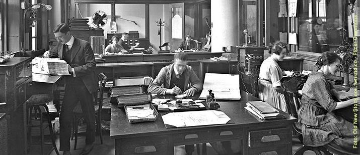 Vintage Büro