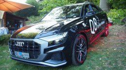 Der neue Audi SUV Q8 von vorn