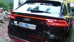 Der neue Audi SUV Q8 - Heckansicht