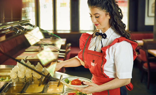 Historische Block House Service Uniform