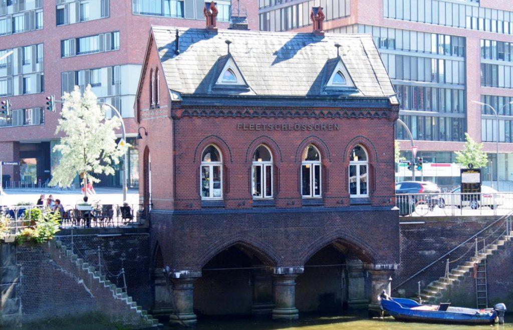Kleines Haus am Fleet in der Speicherstadt