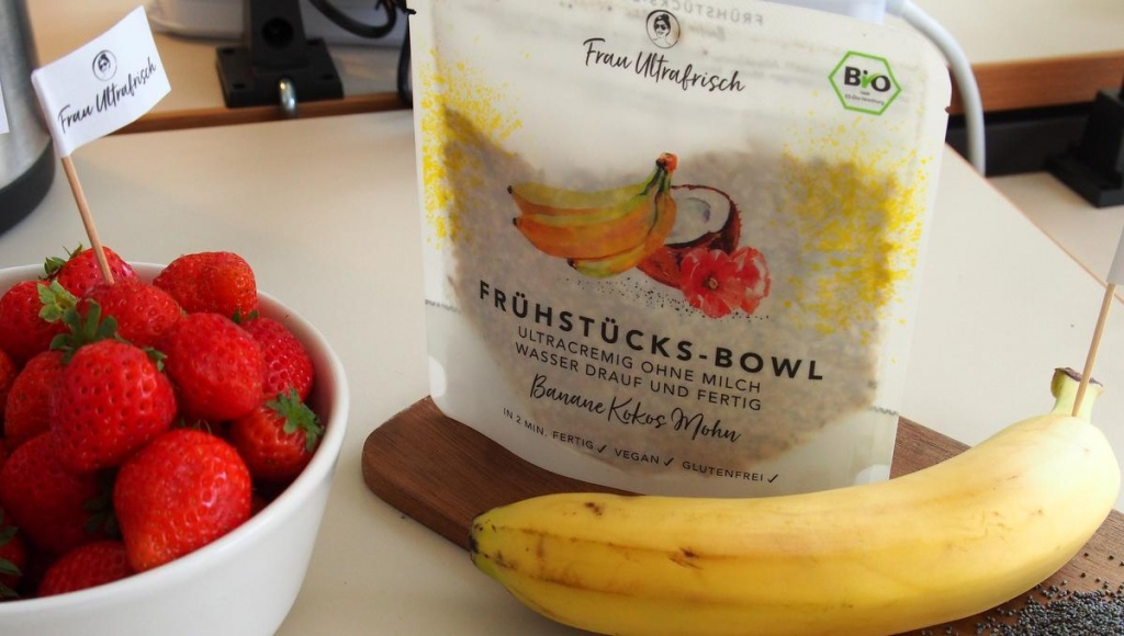 Frau Ultrafresch Frühstücksbowles