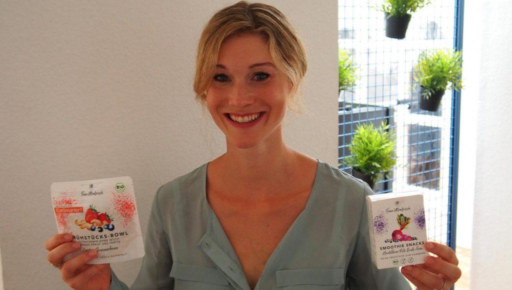 Janina Otto eina Hamburger Start up Unternehmerin