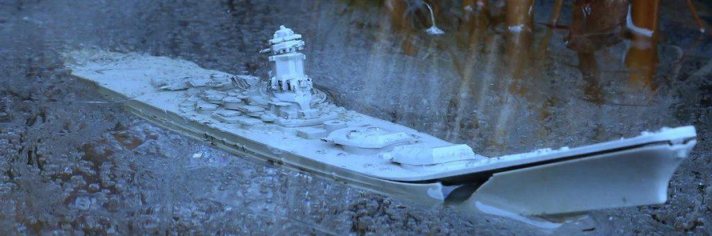 Schiff das sinkt
