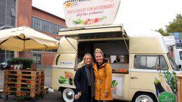 Maggi Foodtruck auf dem Pop up Wochenmarkt