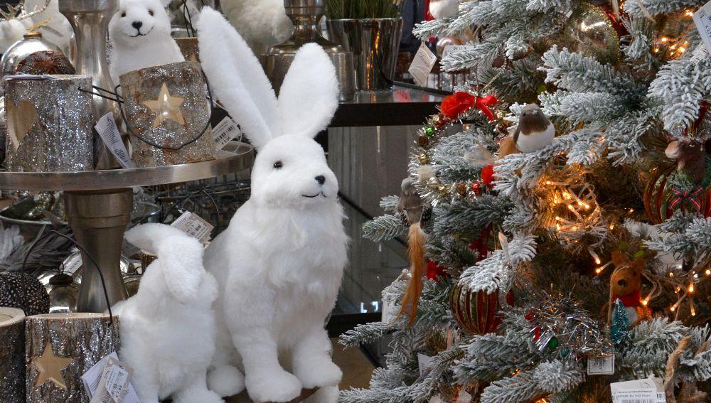 schneehasen alarm bei der weihnachtswelt im garten von ehren. Black Bedroom Furniture Sets. Home Design Ideas