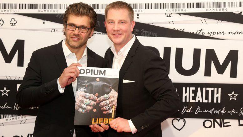 100 Days Opium Feier in der Barlach Halle K - Gäste des Abends