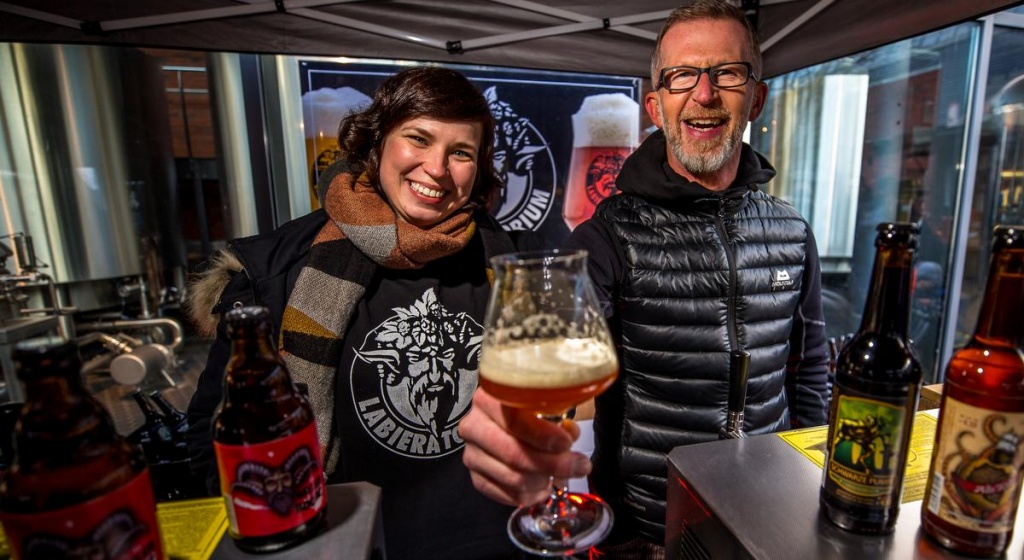 Craft Beer aus Cottbus beim Winter Craft Beer Tag Hamburg