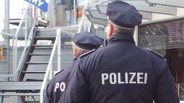 Zwei Hamburger Polizisten