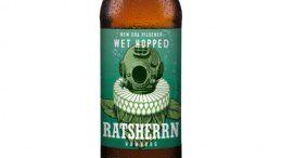 Wet Hopped Ratsherrn Bier Etikett