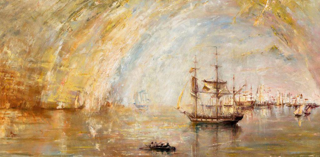 Bild nach William Turner