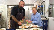 Impressionen von der Dinner Show Cornelia Polettos Palazzo
