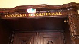 Eingang zum Mozartsaal Hamburg