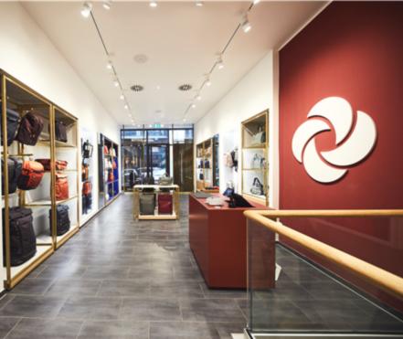 Samsonite Store Hamburg innen