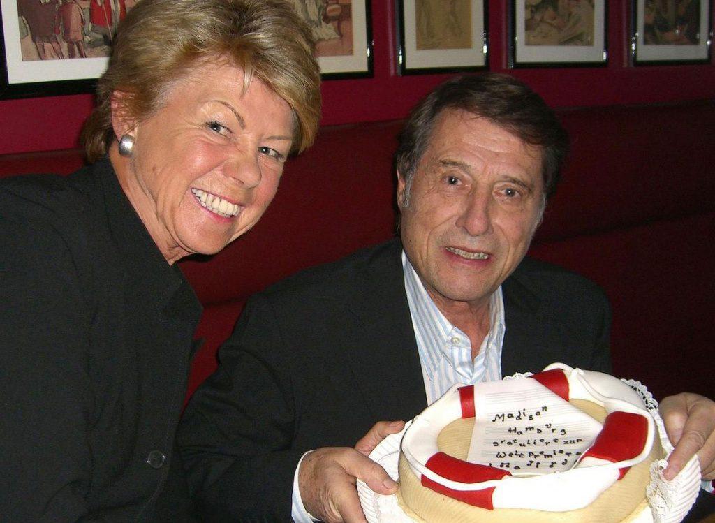 Udo Jürgens mit Marlies Head