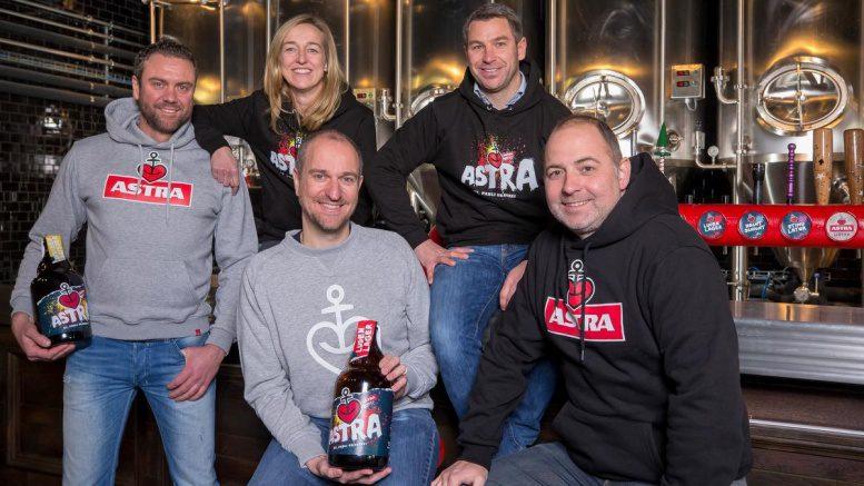 Teamfoto Astra Brauhaus