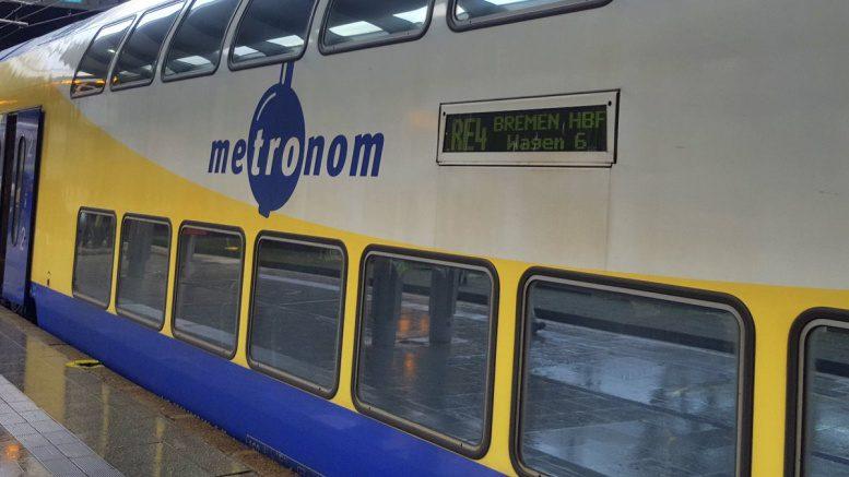 Waggon eines Metronomzuges