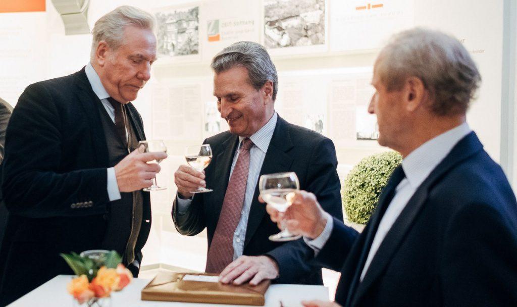 Guenther Oettinger im Gespräch