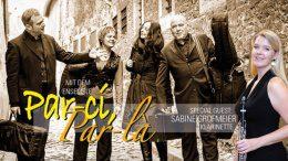 Musikgruppe bei den Hamburger Serenadenkonzerten