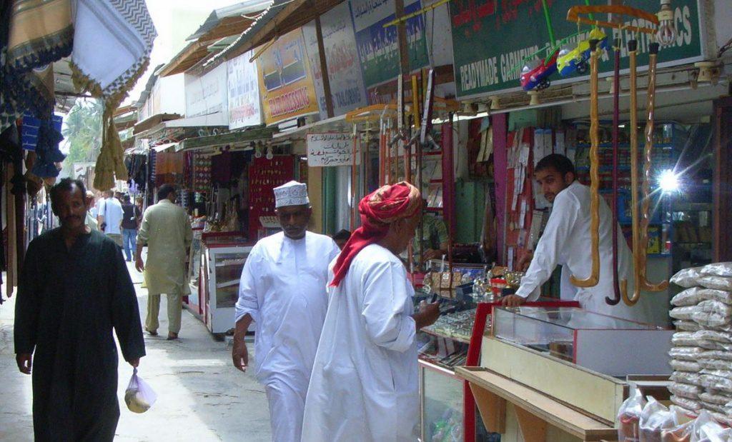 Soukszene im Oman