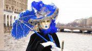 Ein venezianische Maske in Hamburg