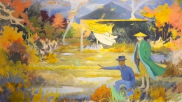 Malerei von Tilo Baumgärtel
