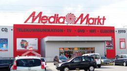 Eine Media Markt Filiale in Elmshorn
