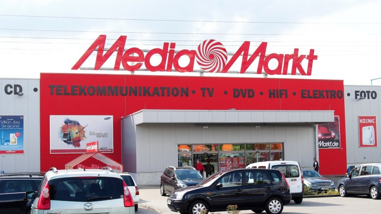 Eine Media Markt Filiale in Elmshorn