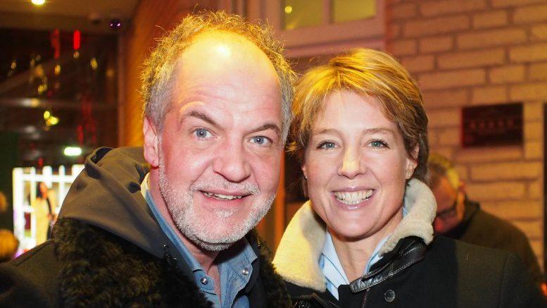 Marek Erhardt mit Christina Block
