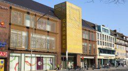 Einkaufszentrum in Hamburg Wandsbek Straßenansicht