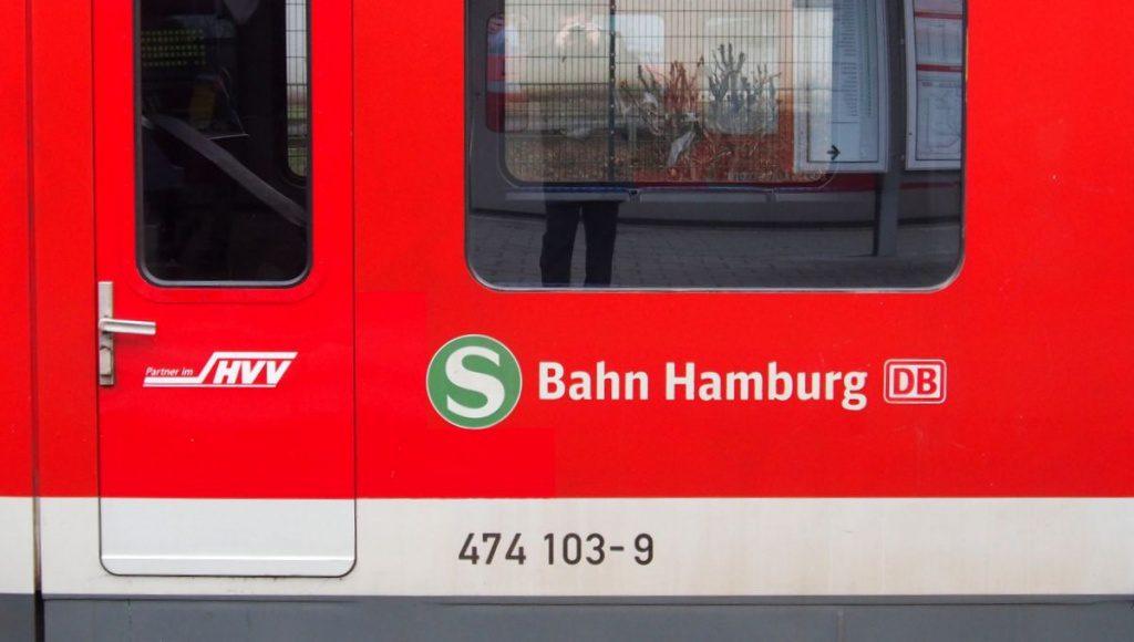 Ein S-Bahn Waggon