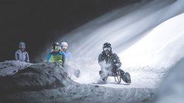 Nachtrodeln in Südtirol