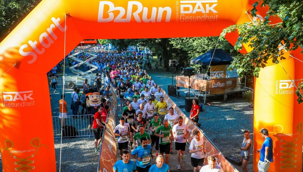 B2B Run - Startszene