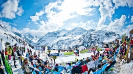 Snow Volleyball in St. Anton